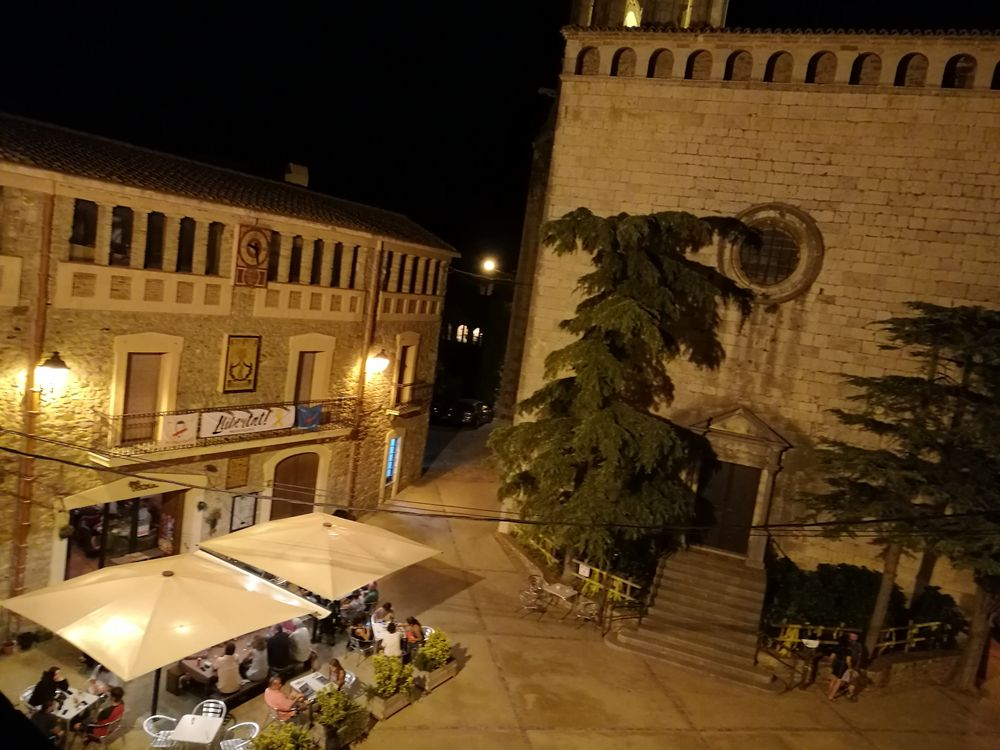 Vistes des de la terrassa / Views of La Pera from terrace